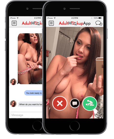 chat functionality for adult hookup
